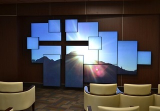Innovative digital signage screens