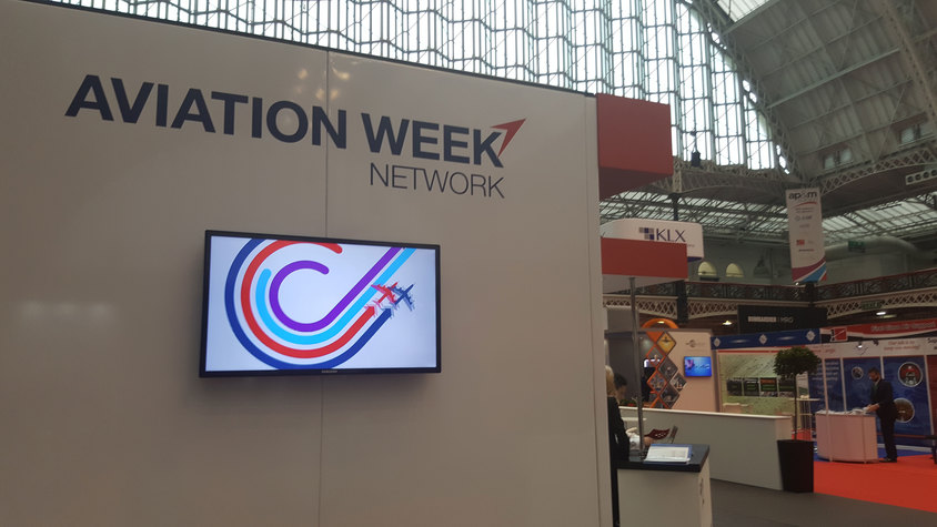 Digital Signage at London Olympia