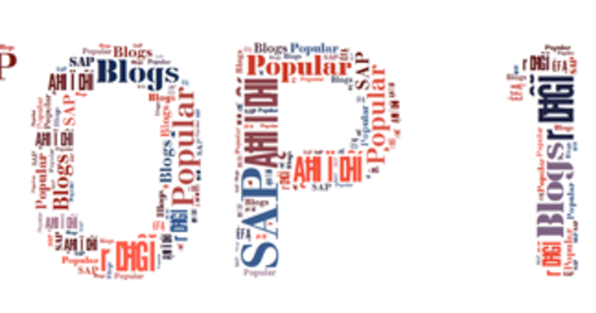 10 Most Popular SAP Blogs from 2013 - RED SAP Solutions