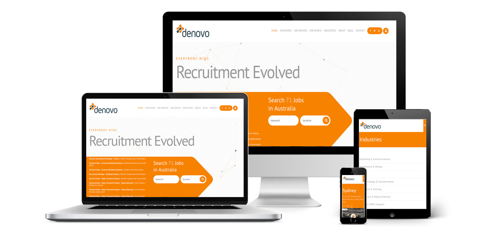 Denovo Recruitment Website