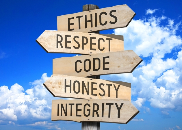 Ethics Respect Code Honesty Intergrity Code of Conduct