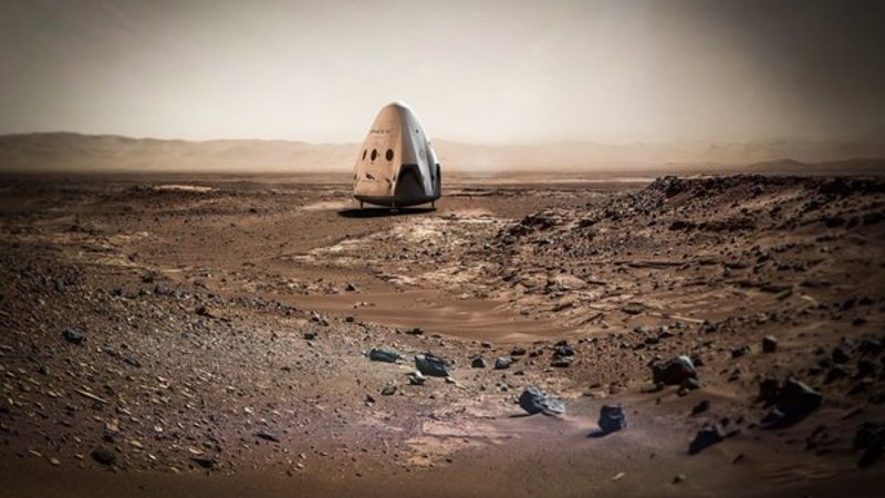 SpaceX NASA on Mars