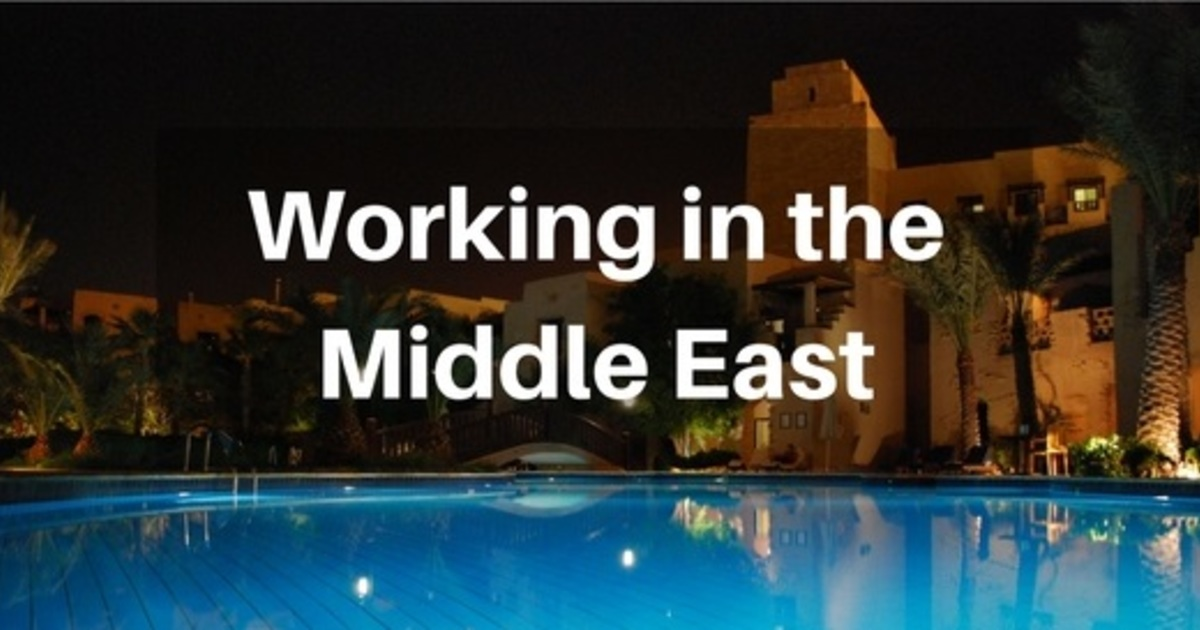 What you need to know to work in the Middle East - Doctors net uk