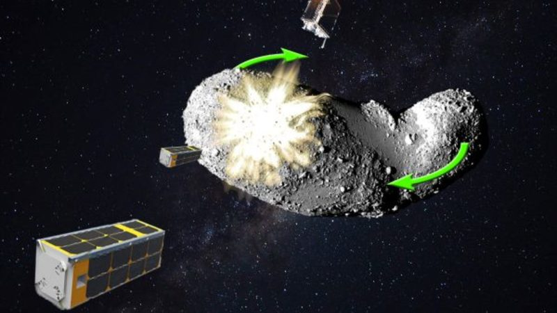Asteroid diversion