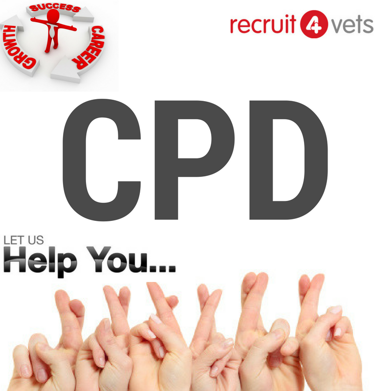Graphic with CPD and recruit4vets logo