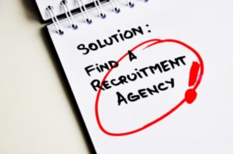 Find a recruitment solution written on paper