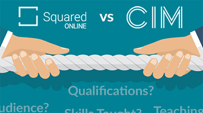 CIM vs. Google's squared online: head to head in marketing education
