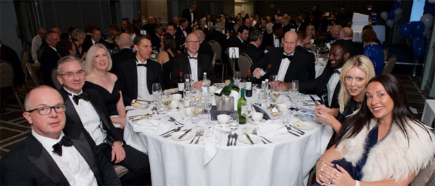 Members of Midlands Aerospace Alliance enjoying a dinner highlighting the capability, technical prowess of the aviation, aerospace and defence sectors in the Midlands