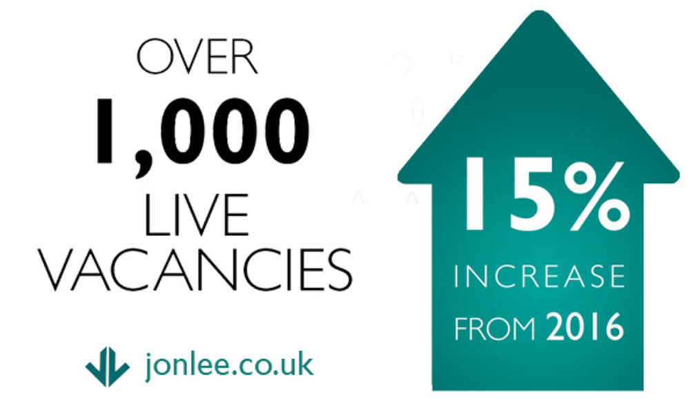 Jonathan Lee Recruitment, engineering manufacturing and technical sector specialists sees boom in number of skilled vacancies