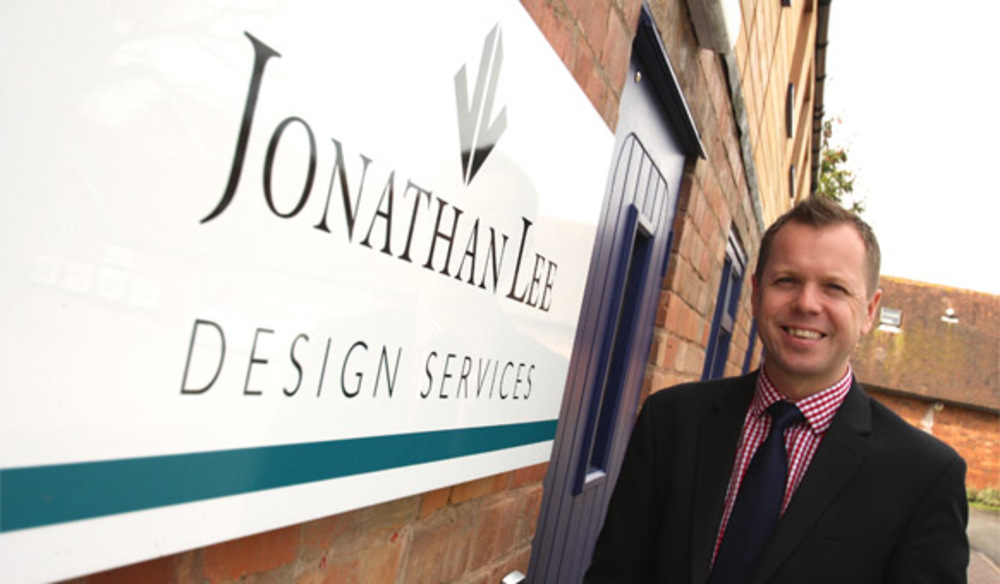 Nick Jones, Director of Jonathan Lee Design Services at the offices in Hatton, Warwick