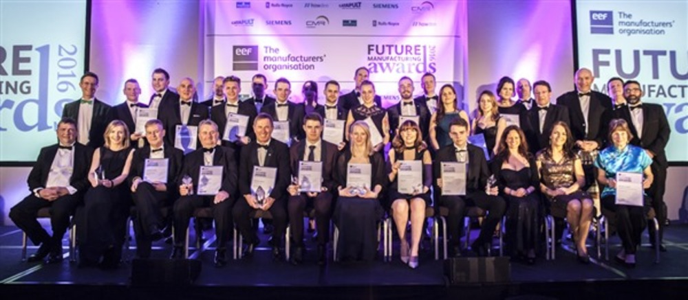 Winners of the EEF 2017 Future Manufacturing Awards