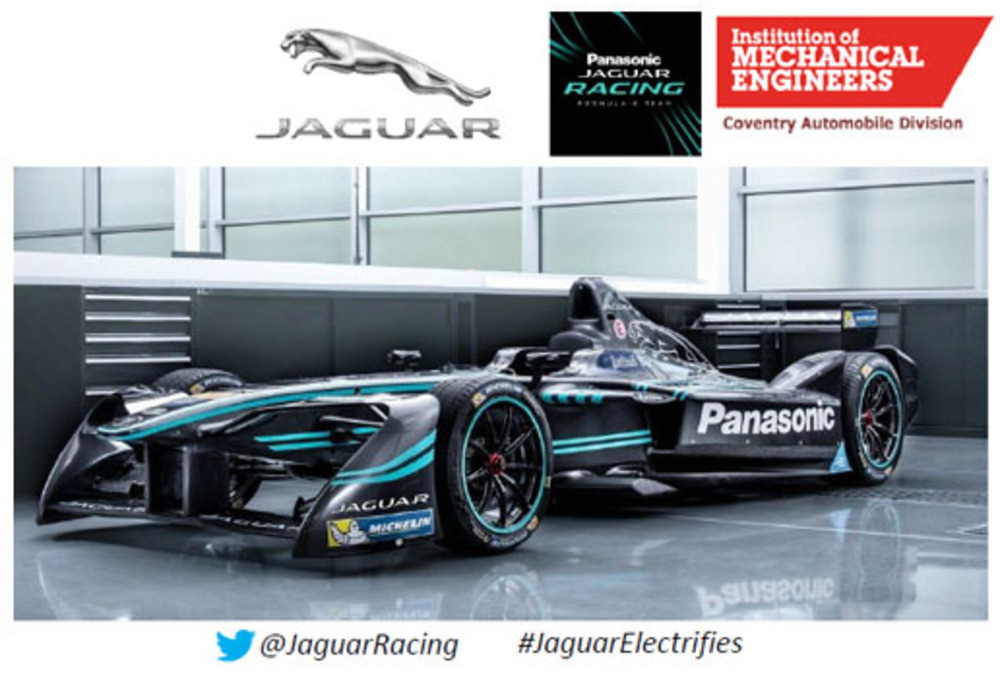Jaguar Racing image from IMechE lectures
