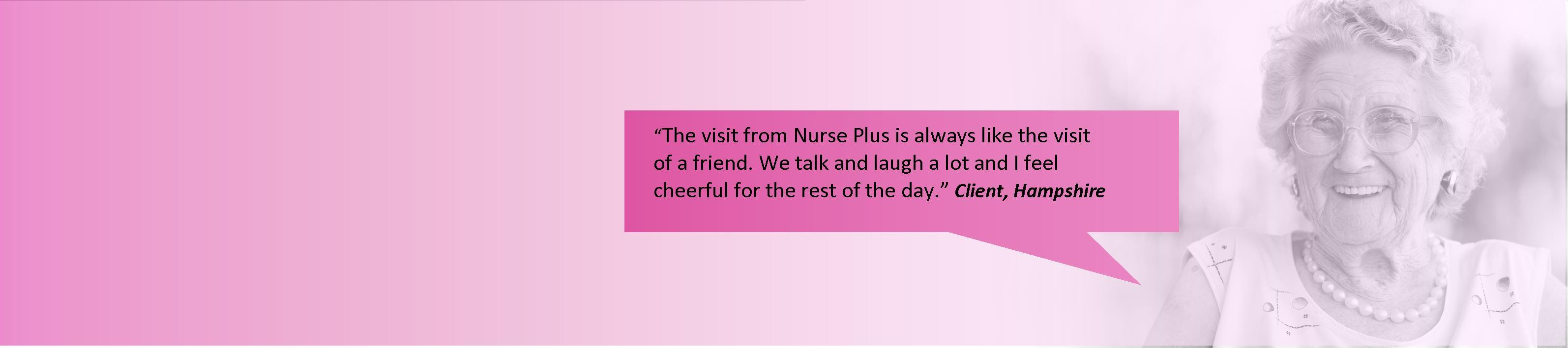 Nurseplus Offer personalised care packages