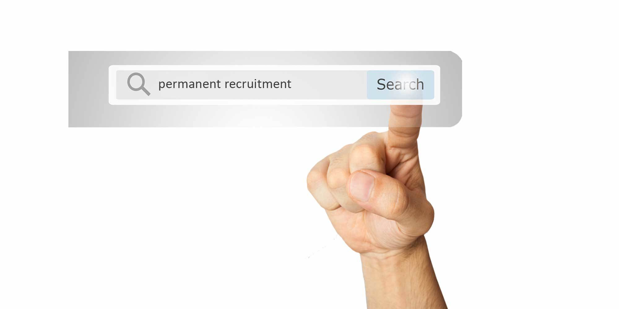 Permanent recruitment search