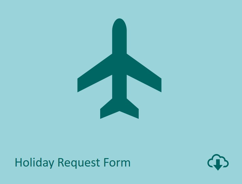 Holiday request form download image