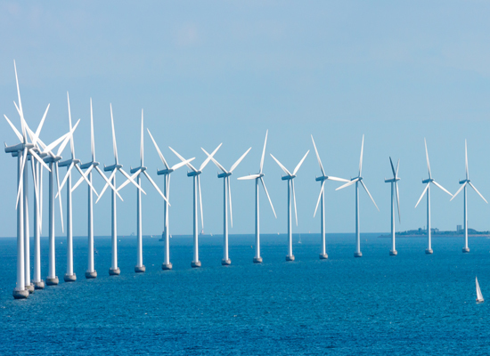 Offshore wind farms and other key projects in engineering asset management