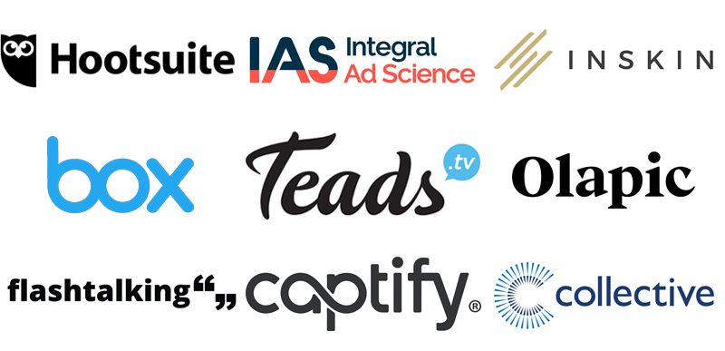 Ad tech and mar tech companies who have hired sales, ad ops, analytics, technology, marketing and creative professionals
