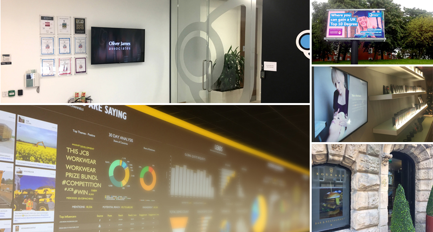 NowSignage for screens