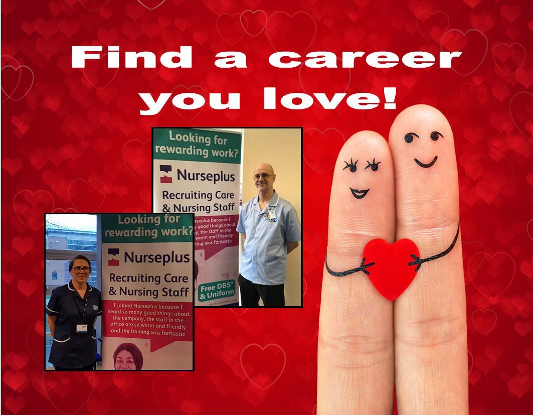 Love your career with Nurseplus