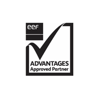 EEF advantages approved partner logo