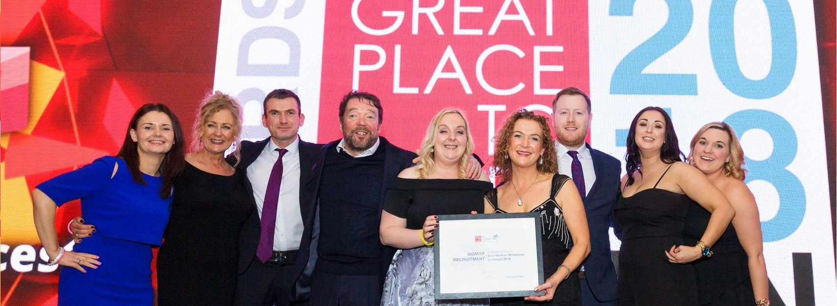 Great Place To Work Awards 2018