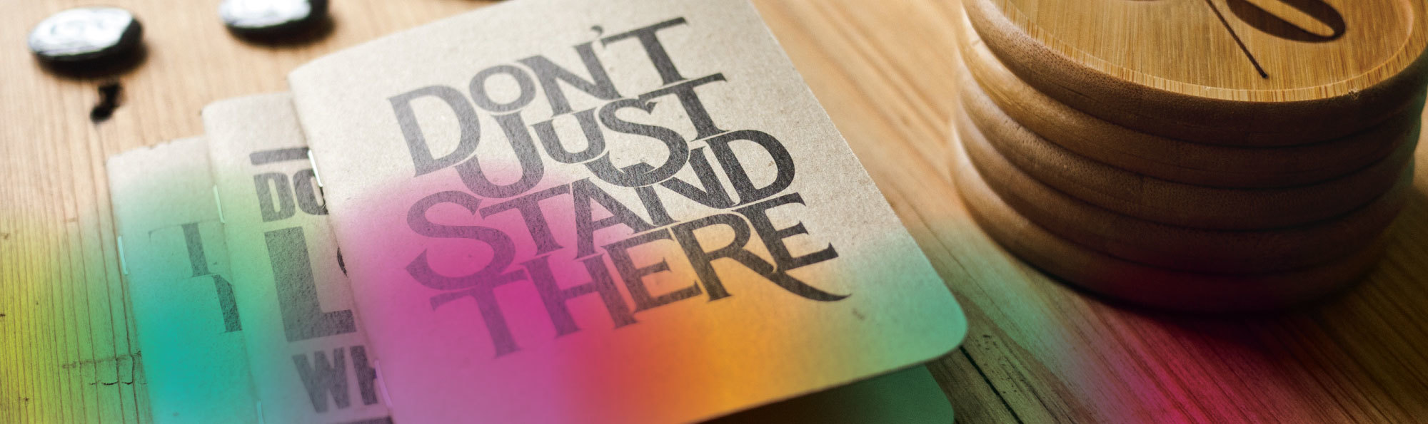Booklet 'Don't Just Stand There'