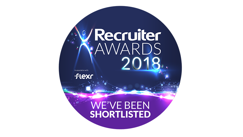 Recruiter Awards 2018 shortlist