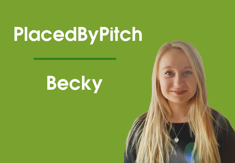 Placed By Pitch Becky