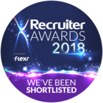 Recruiter Awards Shortlisted Logo
