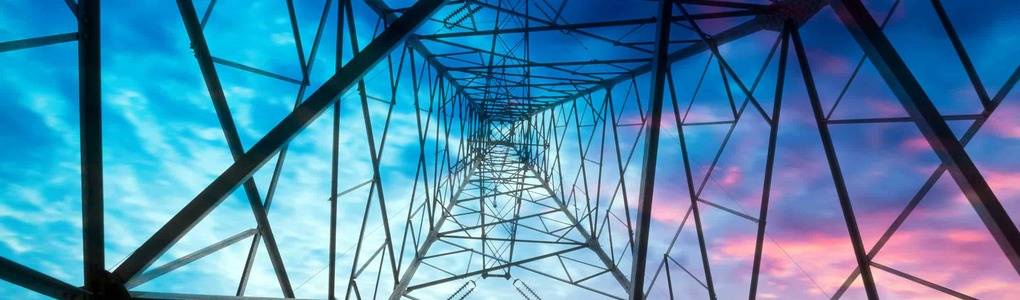 A picture of electric pylon