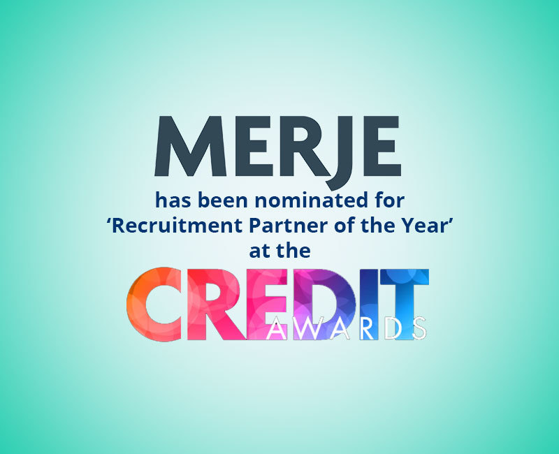 MERJE at the Credit Awards 2018