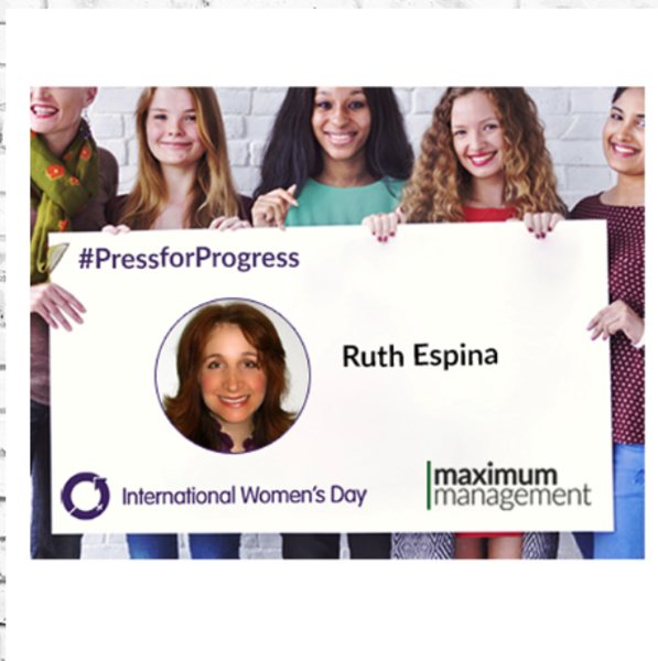 International Women's Day interview with Ruth Espina