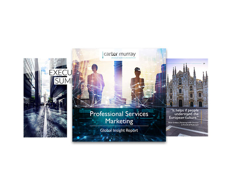 Professional Services Marketing Global Insight Report