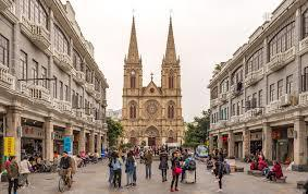 Guangzhou with Roman Catholic Cathedral