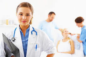 Female Obstetrician and Gynaecologist