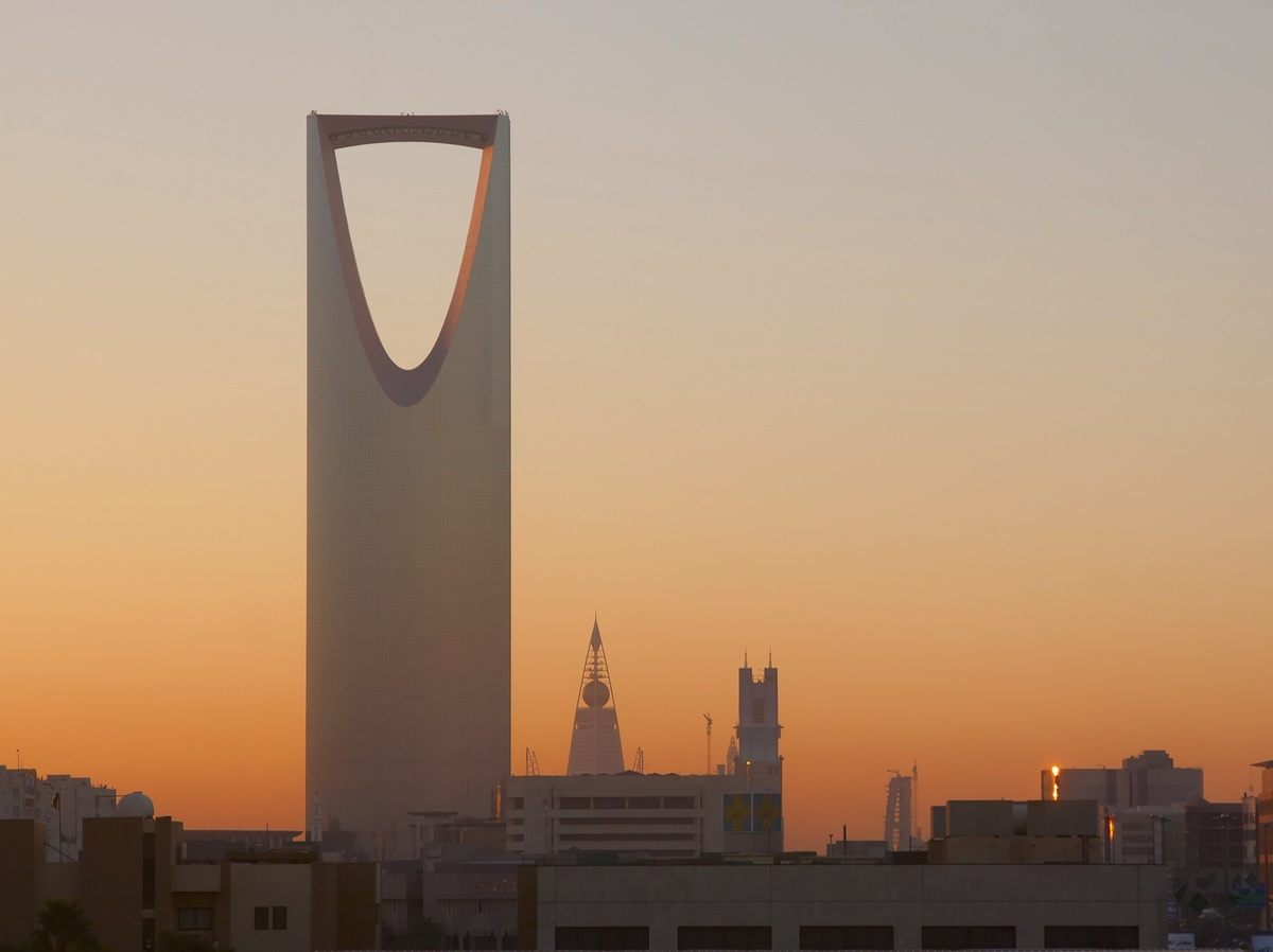 Kingdom Tower Riyadh Saudi Arabia