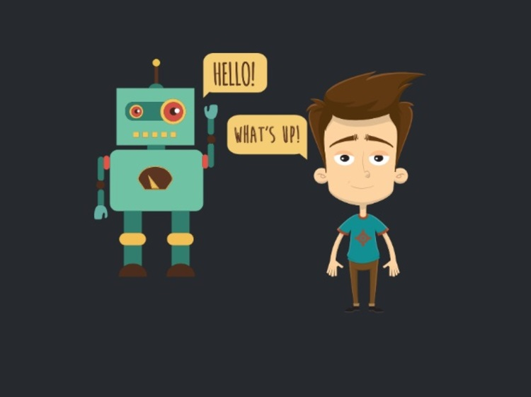 Human and robots working together  - personal assistants london