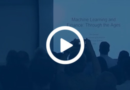 [WATCH] Replay of our Machine Learning and Finance Meetup