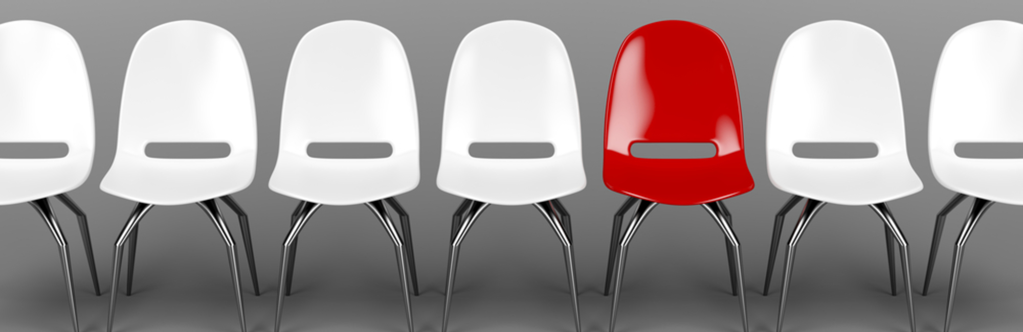 chairs, seat, red chair, white chair