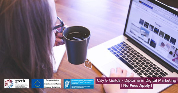 CIty & Guilds Digital Marketing Course GRETB