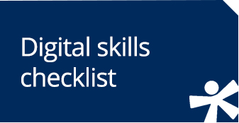 Digital skills checklist