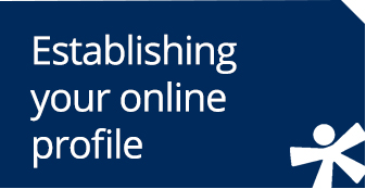 Establishing your online profile