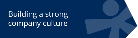 Building a strong company culture