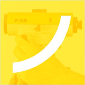 Surveying equipment - Yellow icon image