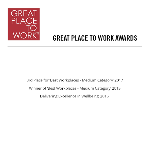 award, great place to work