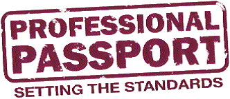 Professional Passport (an independent professional membership organisation for recruitment) logo
