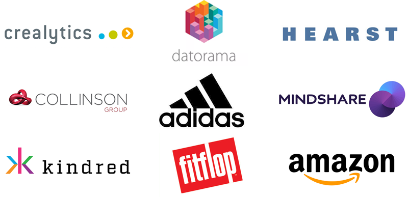 Client logos hiring data and analytic talent