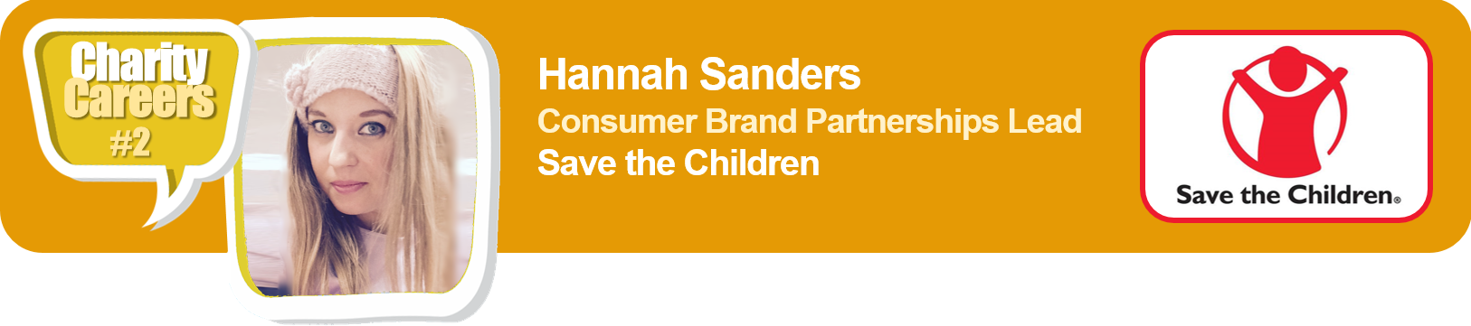 CharityCareers interview 2 with Hannah Sanders of Save the Children