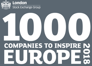 Sellick Partnership listed in the 2018 1000 Companies to Inspire Europe report