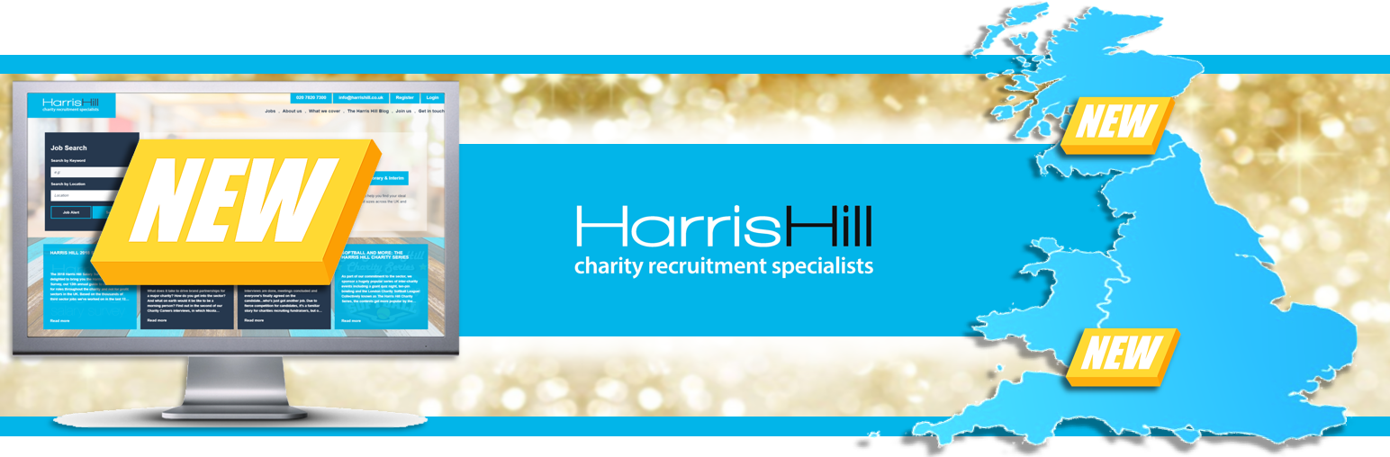 Harris Hill's new website and UK locations